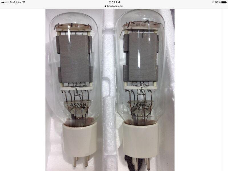 1 pair Brand new Svetlana Factory Platinum Matched Power Triode Tubes SV572-160