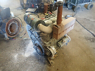 Deutz F3l912 Diesel Engine Runs Exc. Clean Vermeer Miller Welder Ditch Witch