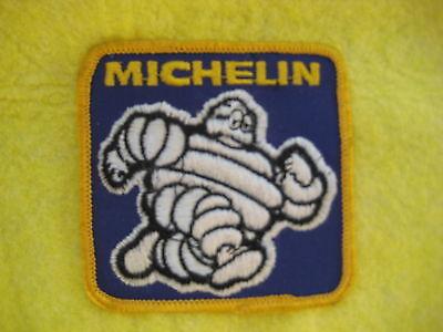 """Vintage Michelin Man Tires Uniform Racing Tires Patch 3 1/8 """" X 3"""""""