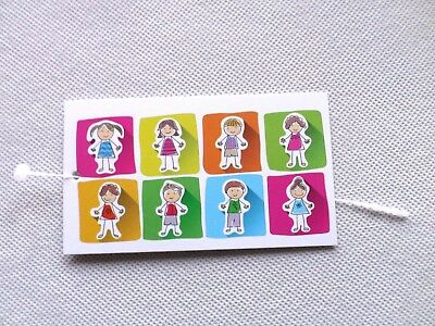 100 N BOUTIQUE TAGS ACCESSORIES TAGS HAPPY KIDS CLOTHING TAGS W PLASTIC LOOPS