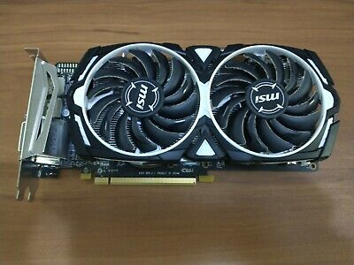 MSI AMD Radeon RX 570 4GB GPU VRAM Graphics Card PC Gaming