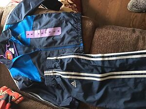 Brand new size 5 adidas splash pants and jacket