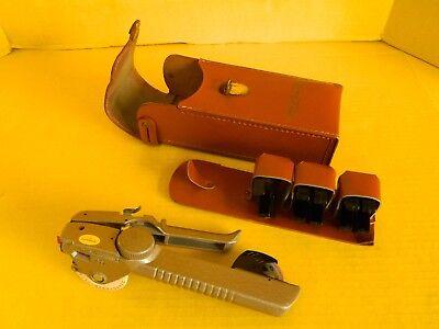 Vintage Dymo Tapewriter Label Maker Model M-5 With Case