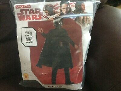 Star Wars Kylo Ren Child Halloween Costume Size Medium 8-10 or ages 5-7  NEW