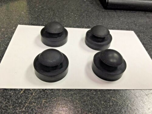JB Vacuum Pump, JB Industries, Rubber Feet, Set of (4) For The PR-62, Pump Base