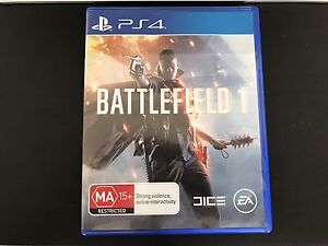 Battlefield 1 PS4 (unused code, mint condition) Coorparoo Brisbane South East Preview