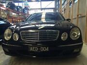 2006 Mercedes-Benz E280 Sedan Black, Low KMs Malvern Stonnington Area Preview