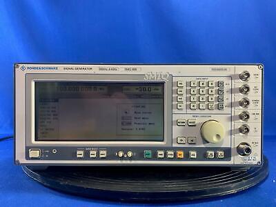 Rohde Schwarz Smiq06b Rf Generator With B1 B11b20