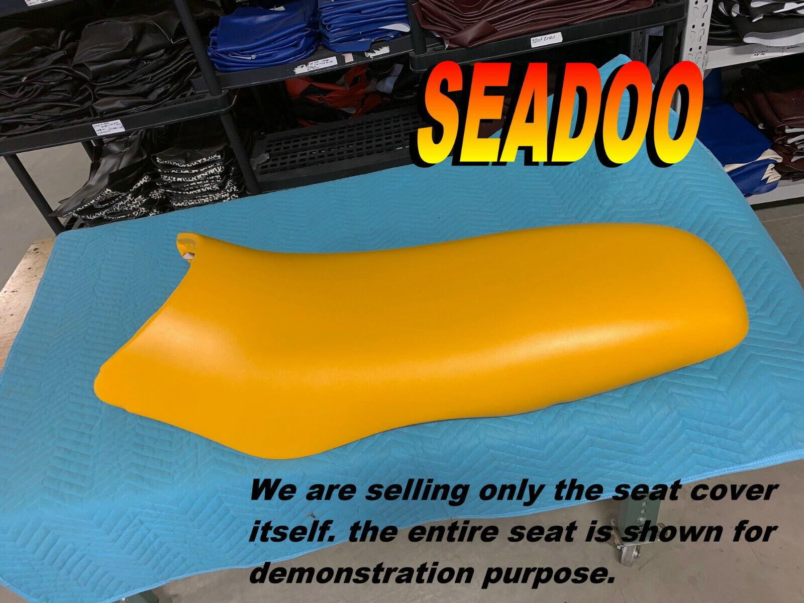 SEADOO GSX NEW SEAT COVER 1996-00 GS GSI Limted RFI SEA DOO Yellow 994C