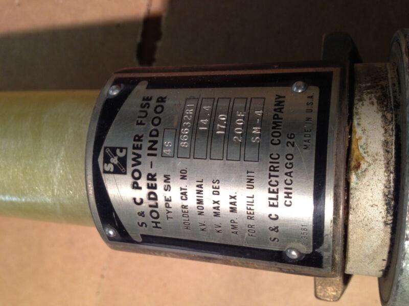 86632R1 S&C Power Fuse Holder Type 4S