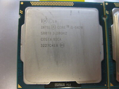 Intel Heart i5-3470 3.2GHz SR0T8 Quad-Core Processor LGA 1155/Socket H2