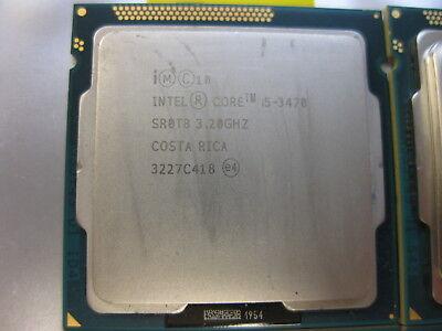 Intel Sum i5-3470 3.2GHz SR0T8 Quad-Core Processor