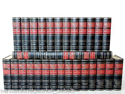 Brockhaus - Die Enzyklopädie - 20. Auflage - 30 Bände = vollständige Ausgabe -