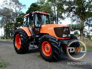 2011 KUBOTA M125X 125HP TRACTOR SLASHER JOHN DEERE NEW HOLLAND Austral Liverpool Area Preview