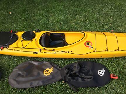 Q-kayak Tasman Express sea kayak