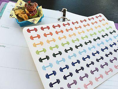 PP026 -- Dumbbell Life Planner Stickers for Erin Condren (80pcs) BUY2GET1FREE