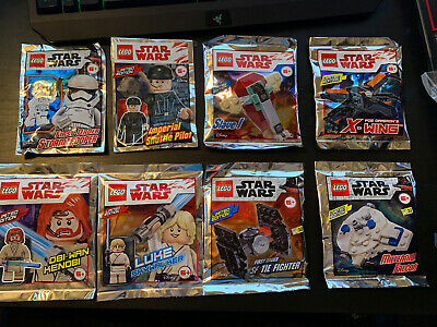 LEGO Star Wars x8 Foil Packs Minifigure/Vehicle Packs Obi-Wan Millennium Falcon