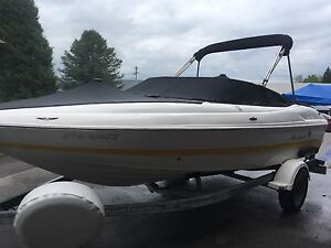 19' Bowrider And Trailer