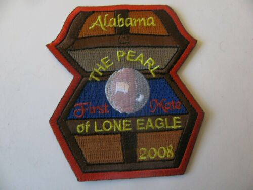 BSA Boy Scout 2008 Camp Lone Eagle  Odenville AL Patch NOS New Stk Free Shipping