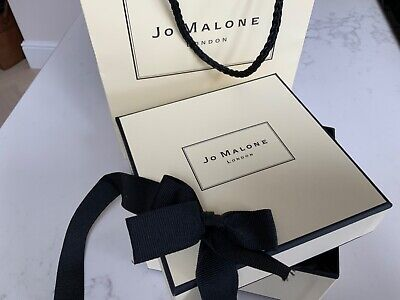 Jo Malone Gift Bag and Candle Box Empty