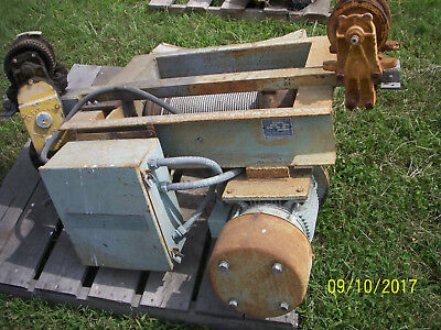 Overhead Trolley Winches - 3 As Is