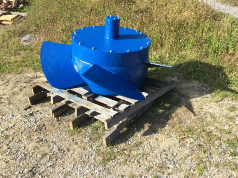 Full Kaplan Hydroelectric Water Turbine & 225kw Generator
