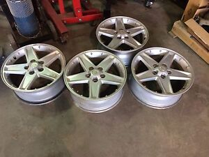 Chevy 17 inch 5 bolt rims $100
