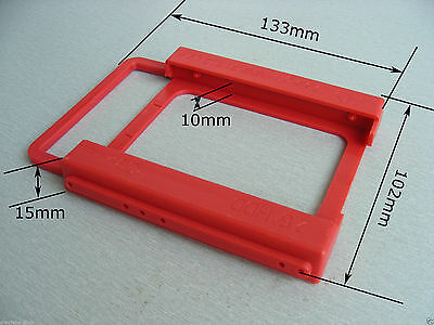 HOT 2.5 to 3.5 Adapter Bracket SSD HDD Notebook Mounting Tray Caddy Bay