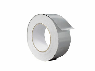 Wod Heavy-duty Aluminum Foil Tape For Hvac Air Ducts 2 In. X 50 Yds