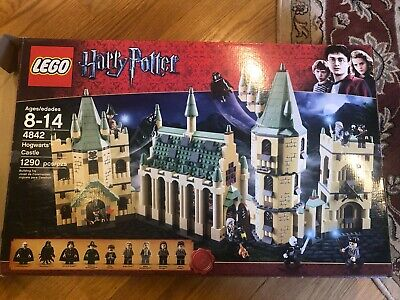 LEGO Harry Potter Hogwarts Castle (4842) With BOX and Instructions USED