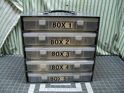 Metal Small Parts Storage Cabinet Bin Organizer Osullivan Industrial Usa