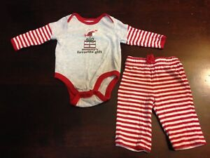 0-3 month Christmas outfit