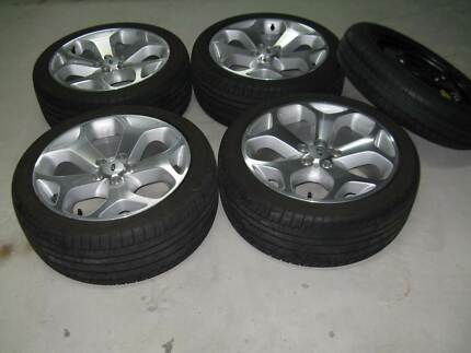 XR6 FG mk 2 Genuine Ford 18 inch rims & tyres Toronto Lake Macquarie Area Preview