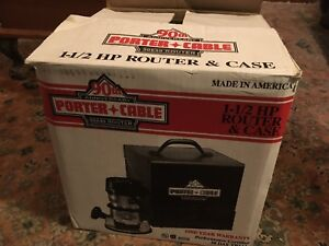 Porter cable model 90690 Router new in tin box