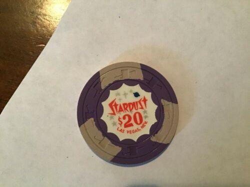 Stardust Casino Las Vegas NV $20 casino chip. very slightly used.  LAST ONE.