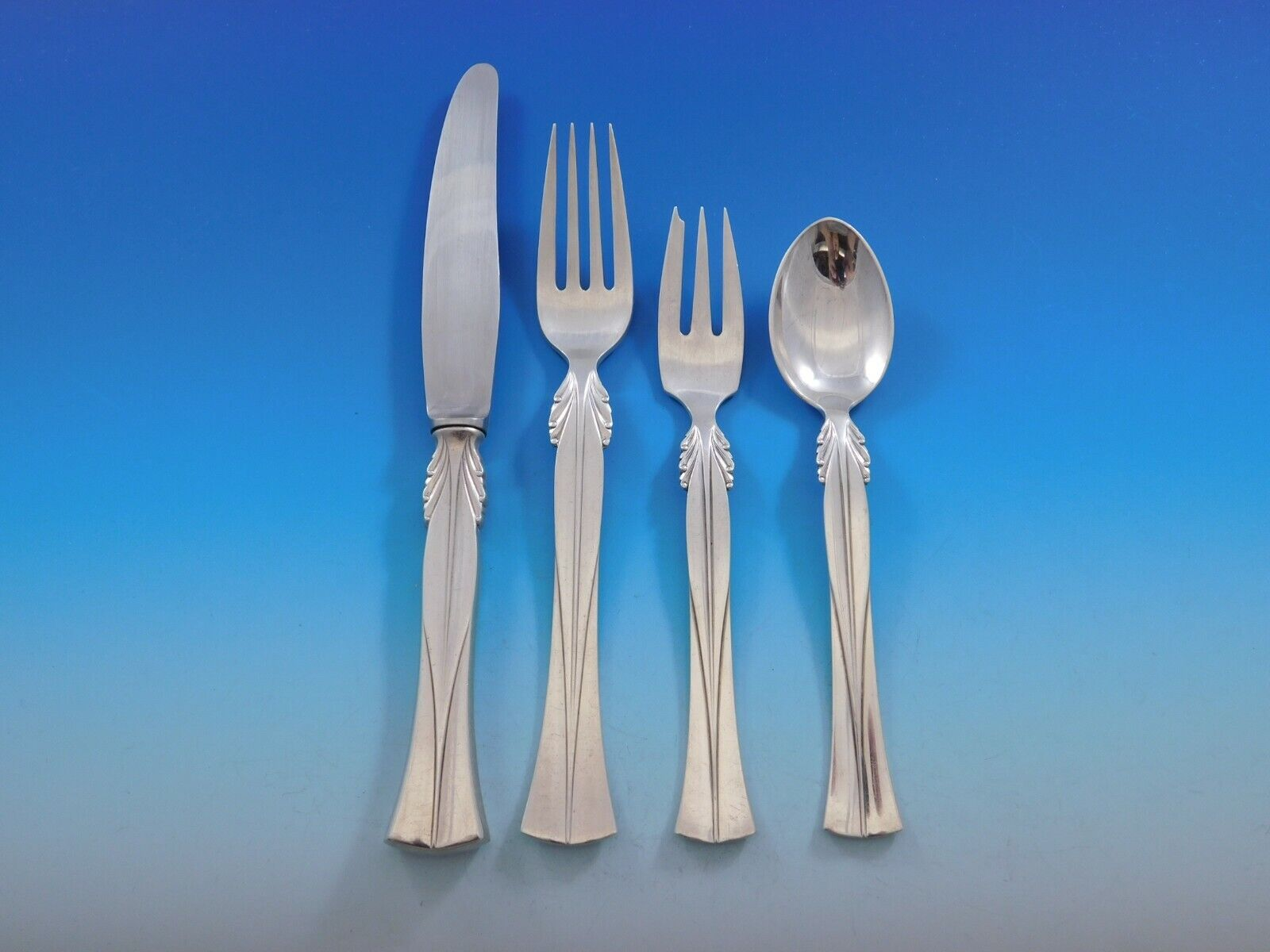 Queen Christina aka Wings By Frigast Sterling Cheese Serving Set HHWS 2pc Custom