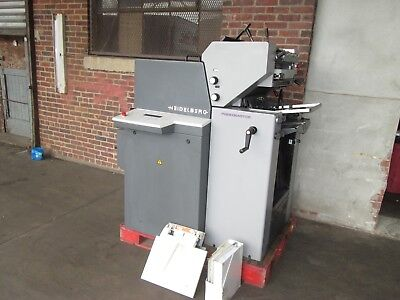 Heidelberg Print Master Qm 46 -2 Cd 2 Color 1999 Clean Machine