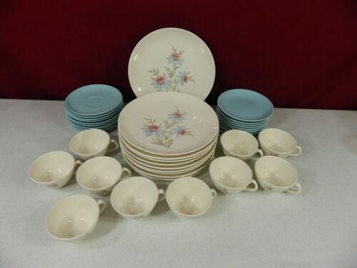 40 Pieces Steubenville Pottery Co Fairlane Dinnerware Set