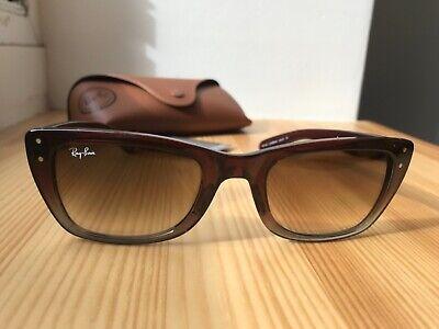 Coole Sonnenbrille Brille von Ray Ban in Braun wie Neu Ray-Ban RayBan Caribbean