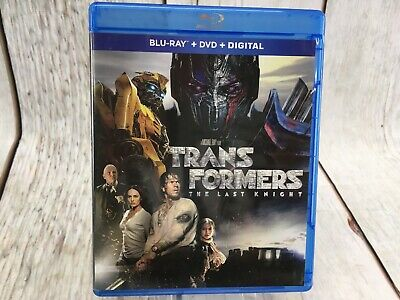 Transformers The Last Knight Blu Ray No Sleeve   / Free Shipping