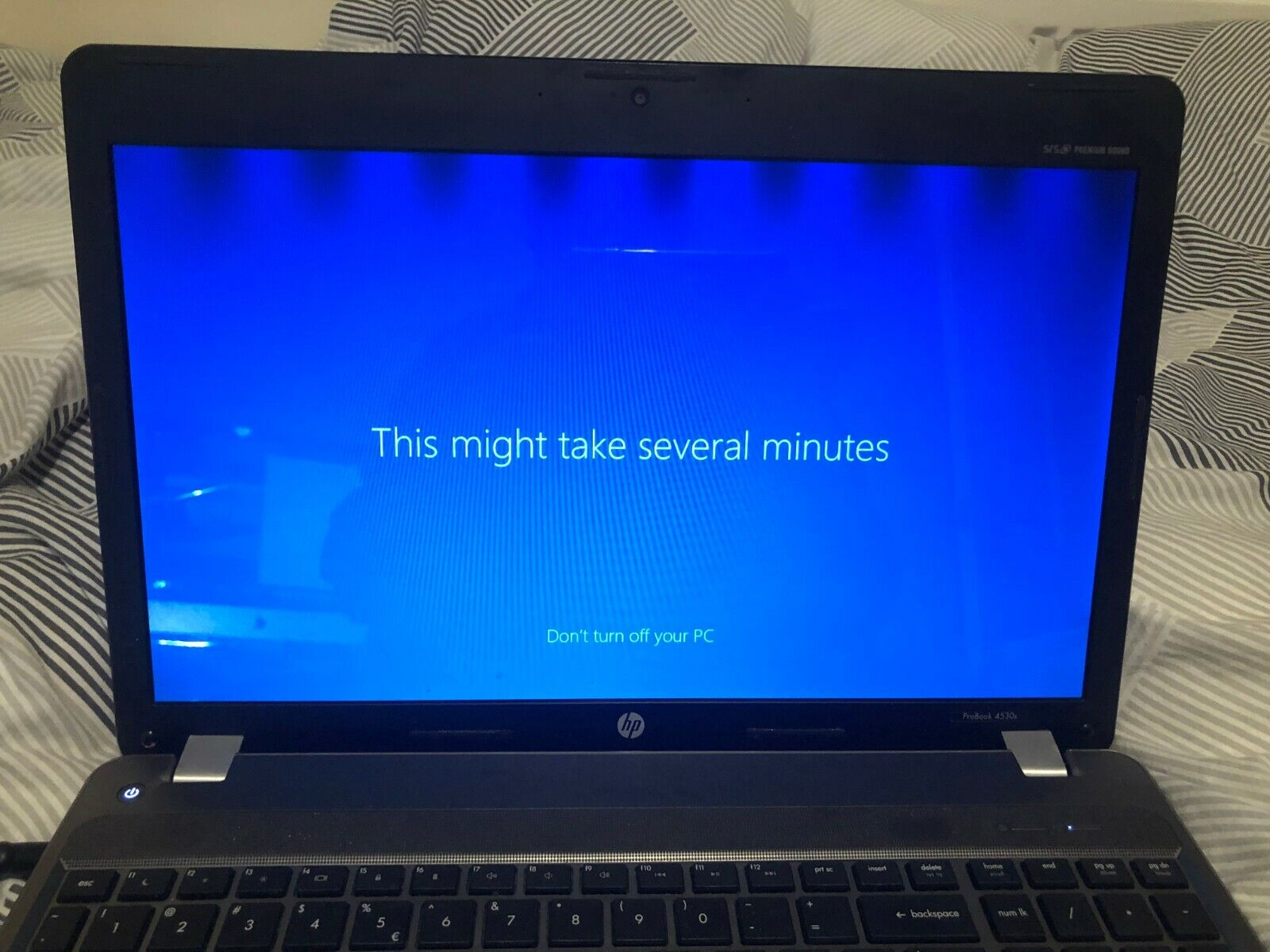 Laptop Windows - HP ProBook 4530s Laptop -  i5 8gb memory 240gb SSD Windows 10