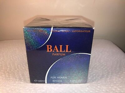 INSTYLE PARFUMS BALL PARFUM EDP SPRAY FOR WOMEN 3.3 Oz / 100 ml NEW SEALED (Y45)