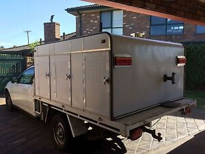 Ute dog box... 4 Beth plus rear storage Brookfield Melton Area Preview