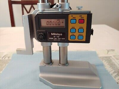 Mitutoyo 192-655 Digimatic Height Gage 0-12 Good Condition