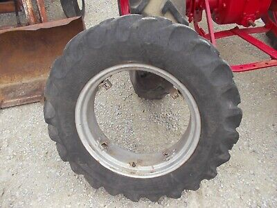 Farmall A Sa B Bn Tractor 11.2 X 24 55 Pm Tread Tire Ih Buckle Mount Rim