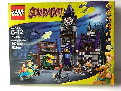 LEGO Scooby-Doo! Mystery Mansion Set 75904 New, Factory Sealed!