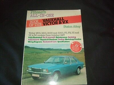 Book of the Vauxhall Victor & VX By Stanton Abbey