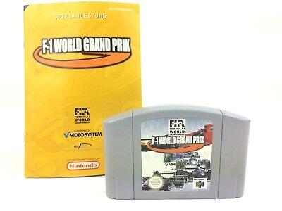 F-1 World Grand Prix - N64 Nintendo 64 - Fórmula 1 Campeonato Del Mundo Pal