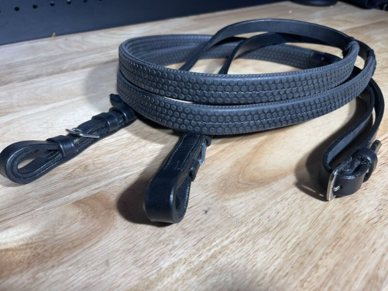 Leaders Classic Rubber Grip Reins - Great Quality!