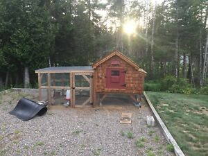 Chicken coop with Run.